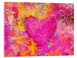 Acrylic glass  heART - Andrea Haase