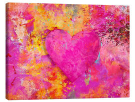 Canvas print  heART - Andrea Haase
