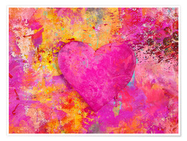 Poster  heART - Andrea Haase