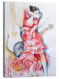 Canvas print  flamenco - Maria Földy