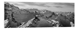 Foam board print  Bernese Alps - Tanja Arnold Photography