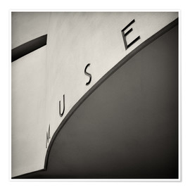 Premium poster New York City - Guggenheim Museum (Analogue Photography)