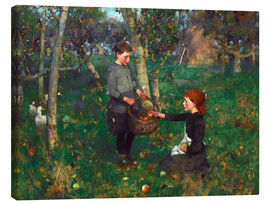 Canvas print  In the Orchard - Sir James Guthrie