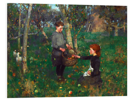 Foam board print  In the Orchard - Sir James Guthrie