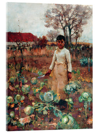 Acrylic print  A Hind's Daughter - Sir James Guthrie