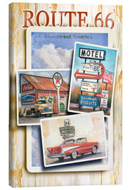 Canvas print  Mainstreet America - Georg Huber