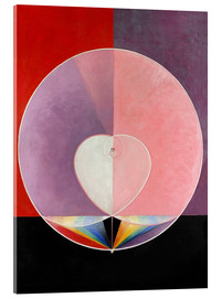 Acrylic print  The Dove, No. 2 - Hilma af Klint