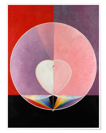 Premium poster  The Dove, No. 2 - Hilma af Klint