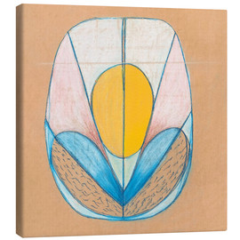 Canvas print  Untitled - Hilma af Klint