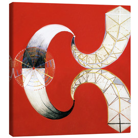 Canvas print  The Swan, No. 9 - Hilma af Klint