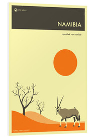 Jazzberry Blue - Namibia Travel Poster