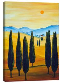 Canvas print  Longing for Tuscany - Christine Huwer