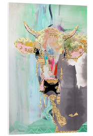 Foam board print  Cow collage - GreenNest
