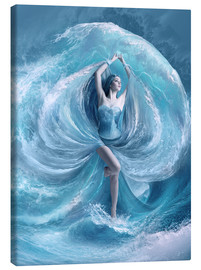 Canvas  Sea dress - Elena Dudina