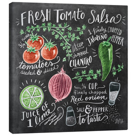 Canvas  Tomato salsa recipe - Lily & Val
