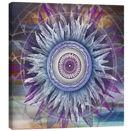 Canvas print  crown chakra - Brenda Erickson