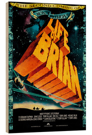 Wood print  Monty Python's Life of Brian