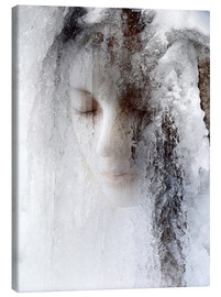 Canvas print  ice queen - Jeffrey Hummel