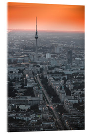 Acrylic print  Berlin TV Tower - Ben Voigt