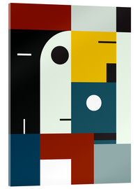 Acrylic print  Bauhaus age - THE USUAL DESIGNERS