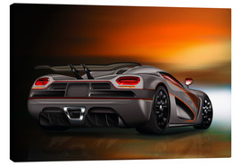Canvas print  Luxury sports car - Kalle60
