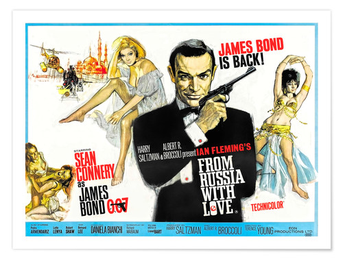 Premium poster From Russia with Love