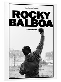 Foam board print  Rocky Balboa - Entertainment Collection