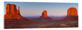 Acrylic print  Monument Valley IV - Rainer Mirau