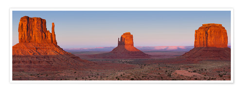 Premium poster Monument Valley IV