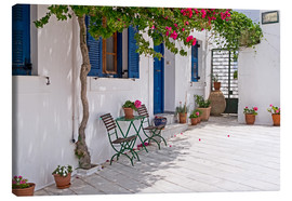 Canvas  Cycladic island of Paros - mountain village Lefkes - Anna Reinert