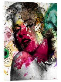 Acrylic glass  Marilyn Monroe - Mark Ashkenazi