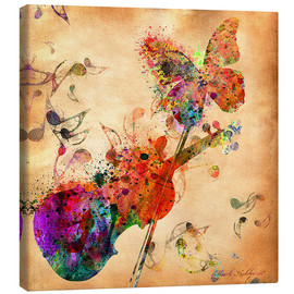 Canvas print  Music - Mark Ashkenazi