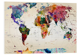 Forex  Map of the world - Mark Ashkenazi