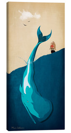 Canvas  Moby Dick I - Mark Ashkenazi