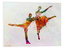 Foam board print  Dancing - Mark Ashkenazi