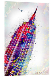 Acrylic print  Empire State Building - Mark Ashkenazi