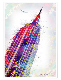 Premium poster  Empire State Building - Mark Ashkenazi