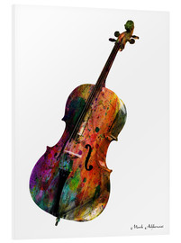 Foam board print  Cello - Mark Ashkenazi