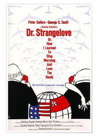 Premium poster Dr. Strangelove or: How I Learned to Stop Worrying and Love the Bomb