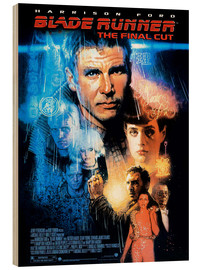 Wood print  Blade Runner - Entertainment Collection