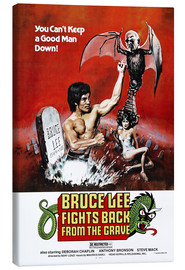 Canvas print  Bruce Lee Fights Back from the Grave