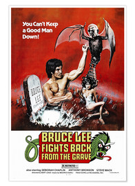Premium poster  Bruce Lee Fights Back from the Grave - Entertainment Collection