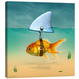 Canvas  Goldfish - Mark Ashkenazi