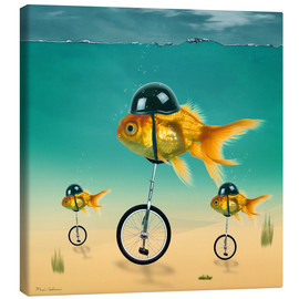 Canvas print  gold fish - Mark Ashkenazi