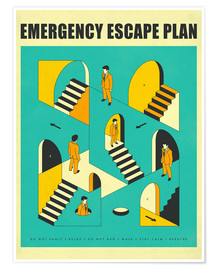 Jazzberry Blue - Emergency Escape Plan 1