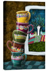 Canvas print  Happy Coffee Mug - Heike Langenkamp