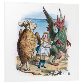 Forex  Gryphon and the Mock Turtle Alice dance - John Tenniel