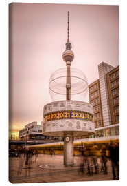 Canvas print  World Timer Berlin - Sören Bartosch