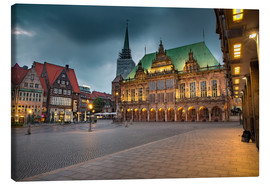Rainer Ganske - Bremen Market Square with City Hall