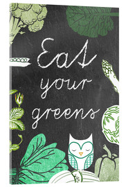Acrylic glass  Eat your greens - GreenNest